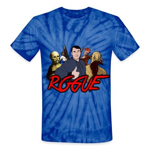 Rogue Games Unisex Tie Dye T-Shirt - Unisex Tie Dye T-Shirt