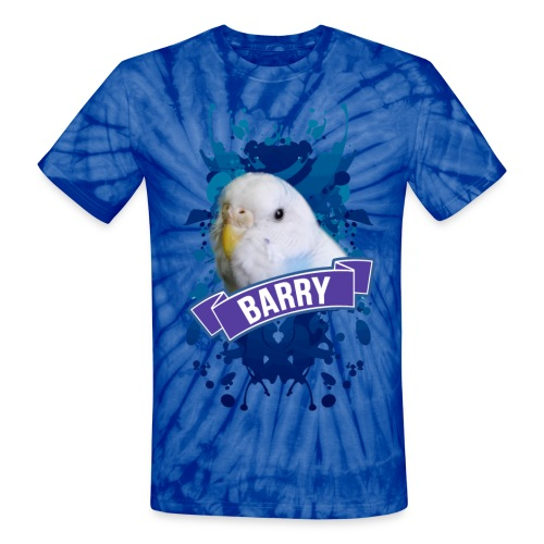 Barry Splatter - MEN V2 - Unisex Tie Dye T-Shirt