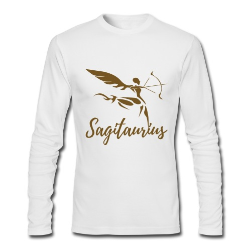 Sagitaurius - Men's Long Sleeve T-Shirt by Next Level