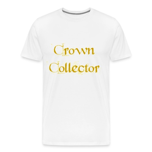 Crown Collector Men's T-Shirt - Men's Premium T-Shirt