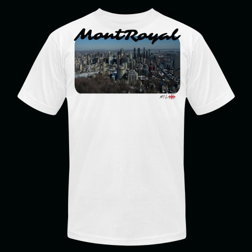 MontRoyal - Mtl - Men's Fine Jersey T-Shirt