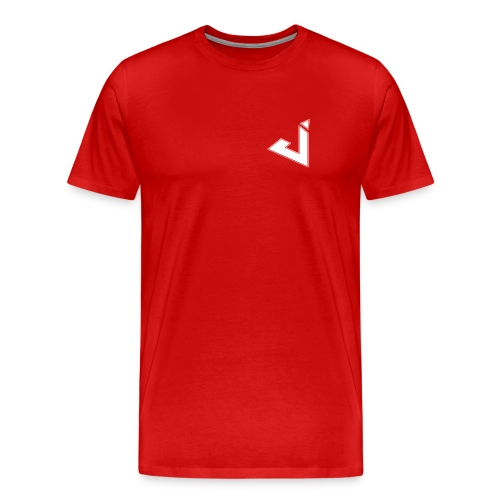 Jadsey Red Shirt With Logo - Men's Premium T-Shirt