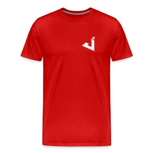 Jadsey Red Shirt With Logo - Men's Premium T-Shirt