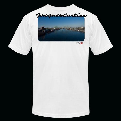 JacquesCartier - Mtl - Men's Fine Jersey T-Shirt