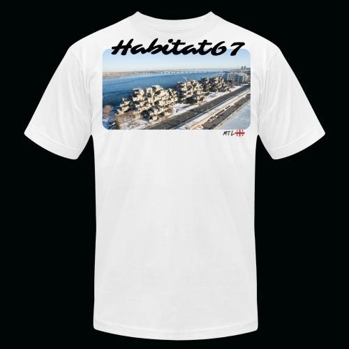 Habitat67 - Mtl - Men's Fine Jersey T-Shirt