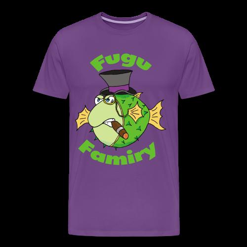 The Fugu Network Fugu Famiry Men's Premium T-Shirt - Men's Premium T-Shirt