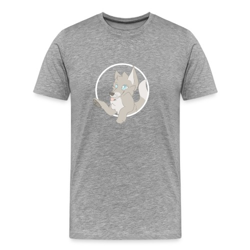 Playful Fox T-shirt - Men's Premium T-Shirt