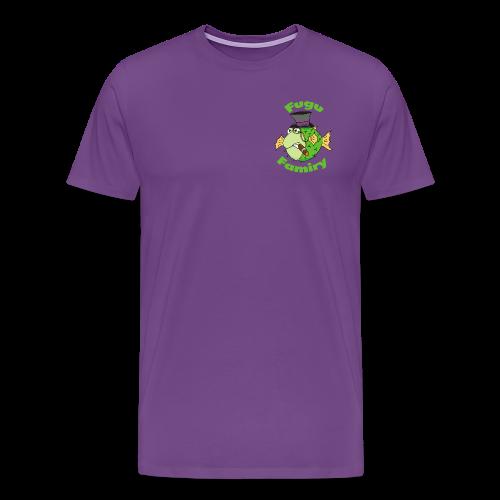 The Fugu Network Fugu Famiry Small Logo Men's Premium T-Shirt - Men's Premium T-Shirt