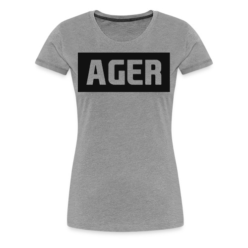 Ager's shirt for women - Women's Premium T-Shirt