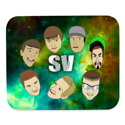 SV collage mousepad - Mouse pad Horizontal
