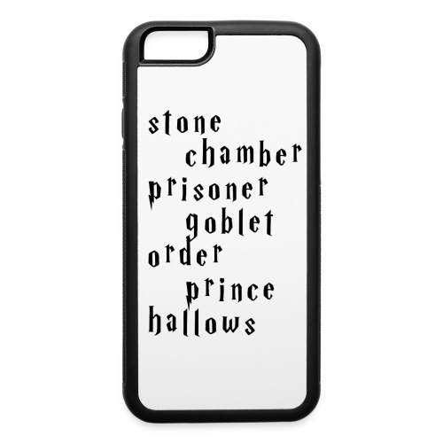iPhone 6/6s Harry Potter Titles Case - iPhone 6/6s Rubber Case