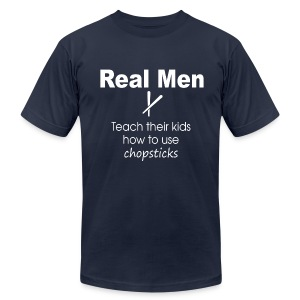 Slim Fit 100% Cotton Real Men  - Men's Fine Jersey T-Shirt
