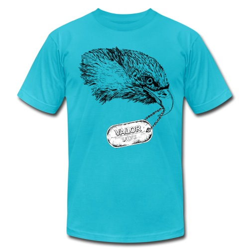 Eagle Valor - Men's Fine Jersey T-Shirt