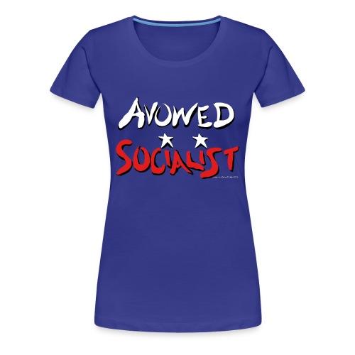 Avowed Socialist - Women's Premium T-Shirt