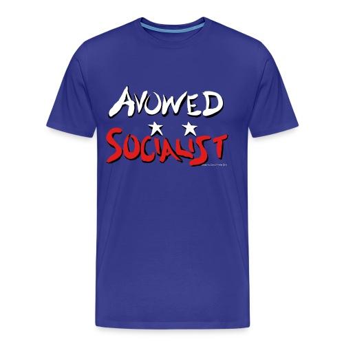 Avowed Socialist - Men's Premium T-Shirt