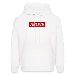 Above Supreme Look Hoodie - Men's Hoodie