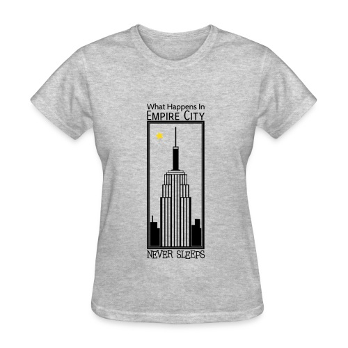 Empire City Never Sleeps - F - Women's T-Shirt