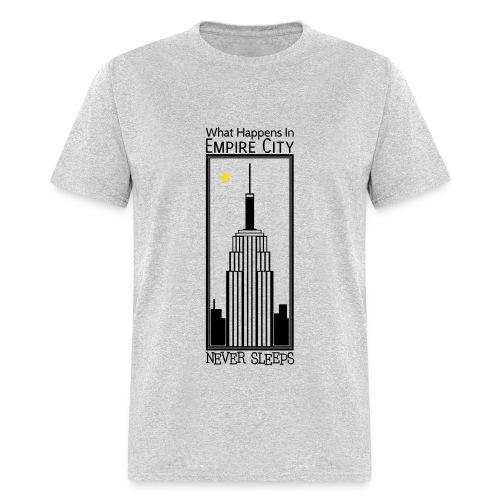 Empire City Never Sleeps - M - Men's T-Shirt
