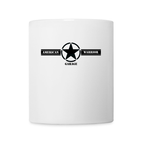American Warrior Garage Mug - Coffee/Tea Mug