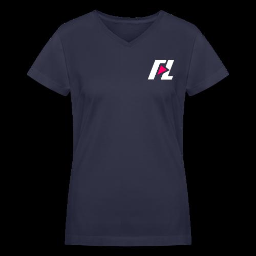 FL  V-Neck Women's T-Shirt - Women's V-Neck T-Shirt