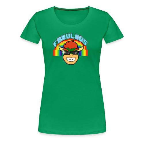 FmRO64 Bowser Fabulous Fete - Women's Premium T-Shirt
