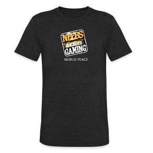 Super Bad Ass Neebs Gaming T Shirt - Unisex Tri-Blend T-Shirt