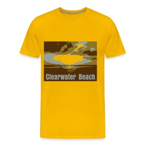 Clearwater Beach - Men's Premium T-Shirt