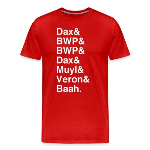 7-0 Helvetica - Men's Premium T-Shirt