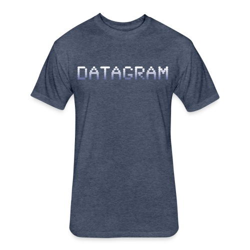 DataGram Logo T Shirt - Fitted Cotton/Poly T-Shirt by Next Level
