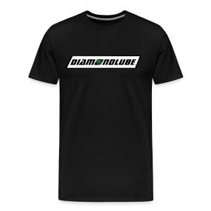 Blackout DiamondLube Logo - Men's Premium T-Shirt