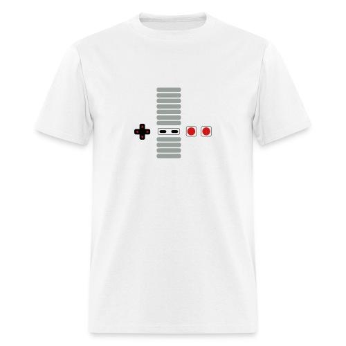 Old School Gamer Buttons - Men's T-Shirt