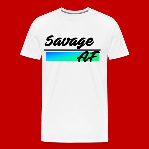 Savage AF - Men's Premium T-Shirt