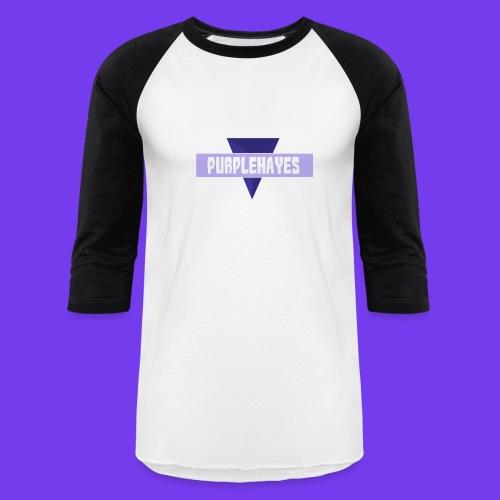 PurpleHayes Baseball Style Shirt - Baseball T-Shirt