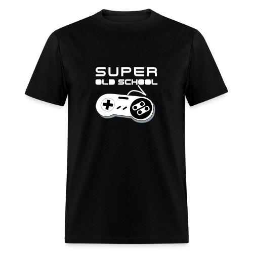 Super Old School - White - Men's T-Shirt