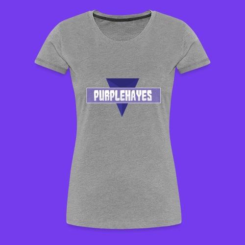 Gray Womens Shirt - Women's Premium T-Shirt