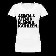 Women's T-Shirts ~ Women's Premium T-Shirt ~ The Women Who Fought