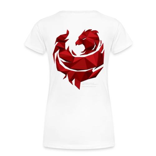 Red Poly Phoenix - Womens - Women's Premium T-Shirt