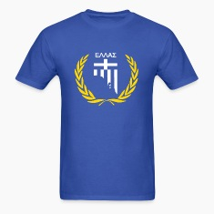 Hellas in Adelaide Blue Men's T Shirt