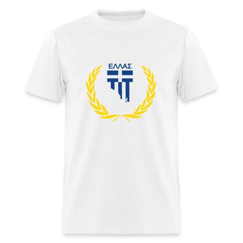Hellas in Adelaide White Men's T Shirt - Men's T-Shirt