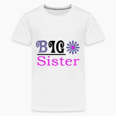 Big Sister Girls Premium t-shirt