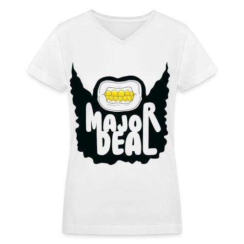 Major Deal Women's V-Neck - Women's V-Neck T-Shirt