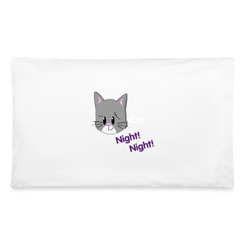 Night Night BuddhaCat Pillowcase - Pillowcase