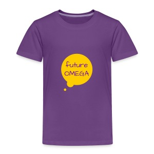 Future Omega Purple Tee - Toddler Premium T-Shirt