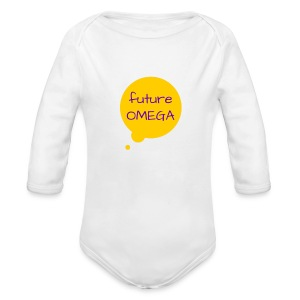 Future Omega Long - Long Sleeve Baby Bodysuit
