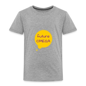 Future Omega Gray - Toddler Premium T-Shirt