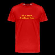 T-Shirts ~ Men's Premium T-Shirt ~ [yemighty]