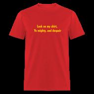 T-Shirts ~ Men's T-Shirt ~ [yemighty]