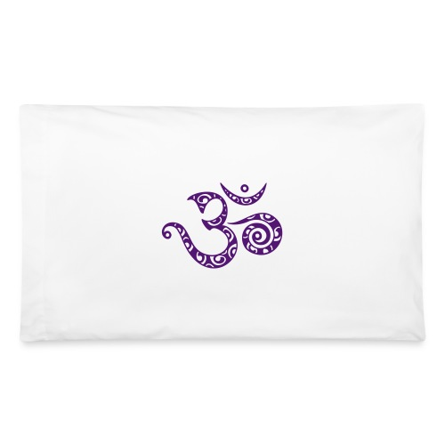 Pillow Case White - Sacred Om - Pillowcase