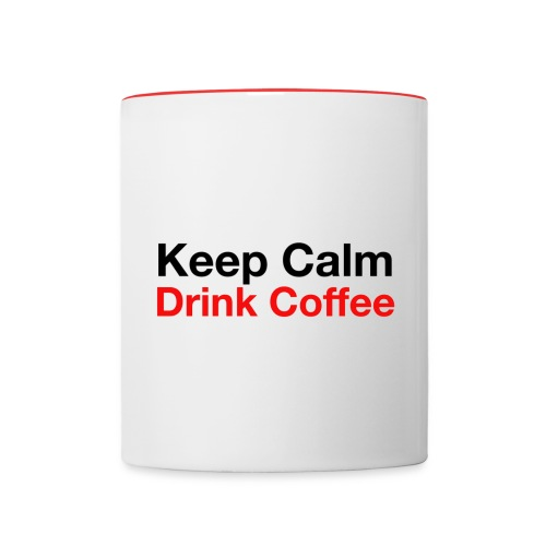 KC Coffee Mug by Hofbern - Contrast Coffee Mug