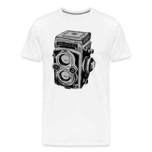 Men's Retro Camera t - Men's Premium T-Shirt